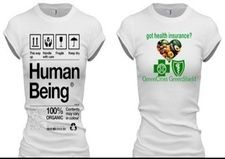 ~Vegetarians/Vegans/Raw Organic Vegans~ Health and Wellness Celebration tshirts for ladies printed on high quality products that wash well and are fit flattering!
