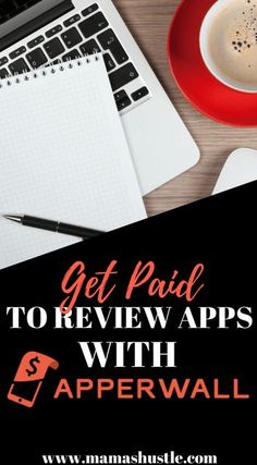 Wanna earn some extra cash starting today?  Check out Apperwall.  You actually get paid to review apps!  It's so easy and you get paid via PayPal. Check it out! | mamashustle.com