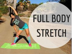 Full Body Stretch Session with Kelsey Lee | Stretch | Flexibility
