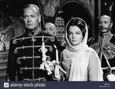"""Stock Photo - movie, """"Katia"""", (Une jeune fille un seul amour), FRA director: Robert Siodmak, scene with: Curt Juergens (Czar Alexande Romy Schneider, Sissi, Hollywood Stars, Old Hollywood, Ludwig, French Actress, World Star, Kaiser, Old Movie Stars"""