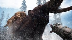 """Ubisoft has released a new live action trailer for Far Cry Primal highlighting the game's archaic setting. The live action trailer entitled """"Charge"""" kicks off in a war zone set in the near future. Far Cry Primal, Far Cry Ps4, Primal Game, Xbox One, Sabretooth Tiger, The Seventh Seal, Mundo Dos Games, Extinct Animals, A Beast"""