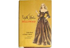 Edith Head's Hollywood, by Edith Head and Paddy Calistro. New York: E.P Dutton.1983. First Edition. 240 Pages. Hardcover with dust jacket. In her 60-year career no one dressed more Hollywood stars than Oscar-winning costume designer Edith Head.