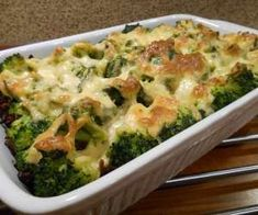 Zapiekanka makaronowa z mięsem mielonym i brokułem