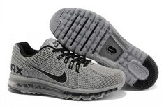 size 40 e58fc 20a5f Nike Air Max 2013 KPU Cool Grey Black Shoes are cheap sale online. Buy high  quality air max 2013 shoes now!