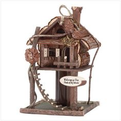 New Fairy Houses & Bird Houses here at Eclectic Artisans! Come Check them out here! They are perfect for your garden, and make great house warming gifts!