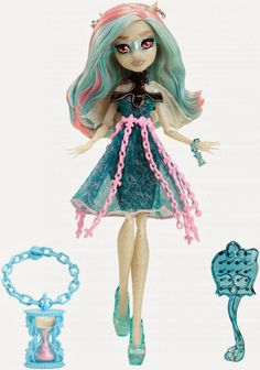 All about Monster High: Rochelle Goyle Haunted.