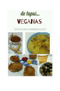 Recopilación de más de 30 recetas, De Tapas...Veganas (ebook GRATUITO)