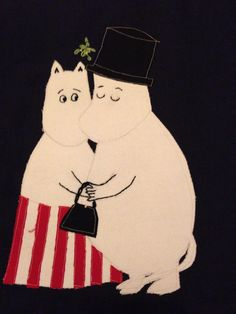 Moomins Christmas Table Cloth, Snoopy, Fictional Characters, Art, Art Background, Kunst, Performing Arts, Fantasy Characters, Art Education Resources