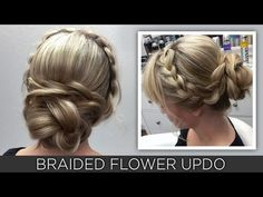 GoPro How-To Video: Lala's Updos' Braided Flower Updo | Modern Salon