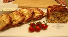 Rulada de carne trio | Rulada de carne - Adygio Kitchen Starters, Baked Potato, French Toast, Potatoes, Bacon, Meat, Cooking, Breakfast, Ethnic Recipes