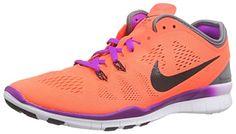 #Nike #Free #TR #5.0 #Fit #5, #Damen #Fitnessschuhe, #Orange #(Hypr #Orng/Blk-Cl…