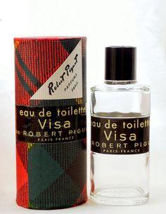 Vintage Robert Piguet Visa Perfume Bottle 2 by FragranceWindow