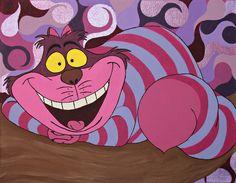 Most Everyone's Mad Here Cheshire Chat, Cheshire Cat Tattoo, Cheshire Cat Alice In Wonderland, Alice In Wonderland Tea Party, Disney Dream, Disney Love, Disney Art, Cat Toilet Training, Cat Tattoos