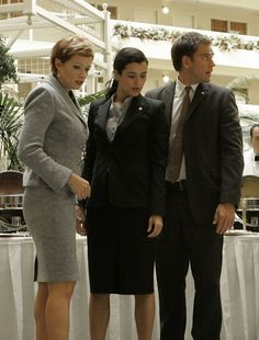 "NCIS - Season 4 Episode 8 - ""Once A Hero"" Ziva, Tony and Director Shepherd"