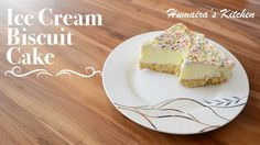 awesome Ice Cream Biscuit Cake - Quick & Easy - Humaira's Kitchen