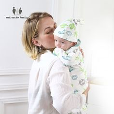 2 Pieces Set Swaddle Wrap +Hat Blanket Bedding Cartoon Cute Infant Sleeping Bag For 0-6 Months Baby Receiving Blankets, Miracle Baby, Baby Cocoon, Swaddle Wrap, Baby Warmer, Baby & Toddler Clothing, Baby Prints, Hat, Baby Bedding