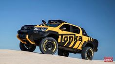 Toyots Hilux Tonka Off Road