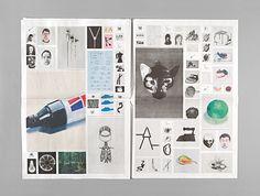 Graphiste suisse basée a Zurich, E.Rieser est spécialisée dans l'éditorial.