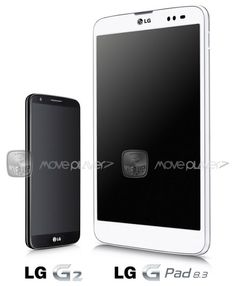 Now the first LG G Pad 8.3 press photo has been leaked, with the G Pad 8.3 release can perhaps be expected to the IFA