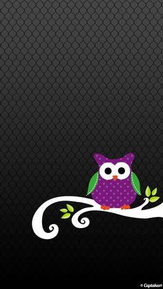 Cuptakes Wallpaper - Owl  tjn Owl Wallpaper, Iphone 5 Wallpaper, Holiday Wallpaper, Locked Wallpaper, Cellphone Wallpaper, Textured Wallpaper, Pattern Wallpaper, Halloween Wallpaper, Wallpaper Ideas