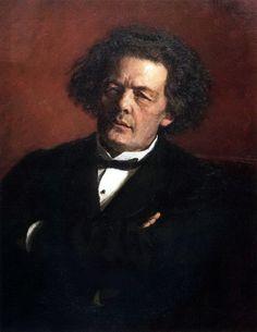 Портрет композитора А. Г. Рубинштейна. 1881. Илья Ефимович Репин