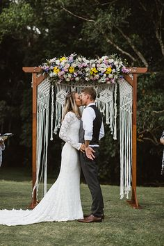 NICOLE   JASON bride and groom