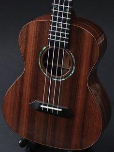 Pau Ferro Tenor Ukulele, sinker redwood top, lichty guitars