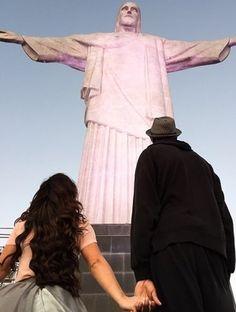 Chris Bosh esposa Corcovado Rio NBA Miami Heat (Foto: Reprodução/Instagram)