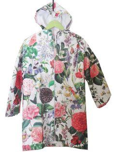 RH122-EG Raincoat - English Garden Print