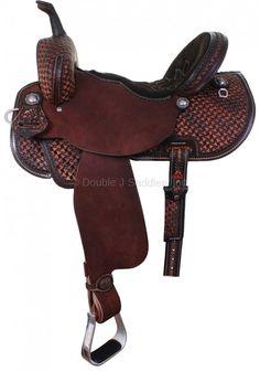 """13"""" Double J Pozzi Pro Barrel Saddle $2,700"""
