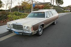 1976 Chrysler Town & Country station wagon