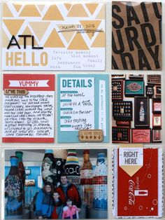 PROJECT LIFE by Jenni Hufford using the Elle's Studio Let's Eat collection
