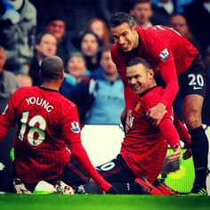 Young, Rooney, RvP
