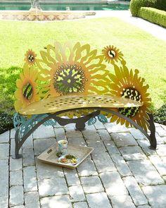 H86T3 Sunflower Bench