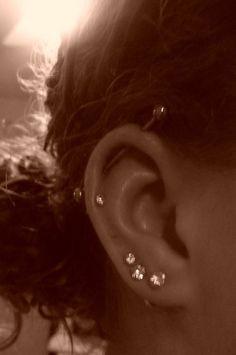 Ohrknorpel Piercing, Bijoux Piercing Septum, Tongue Piercings, Cartilage Piercings, Cartilage Earrings, Smiley Piercing, Ear Plugs, Ear Jewelry, Body Jewelry
