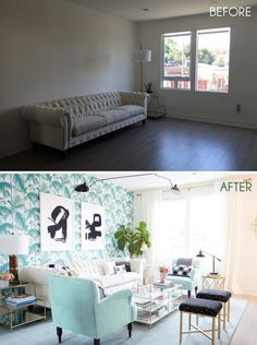 Weekend Makeover | Nicolette Mason's New Home