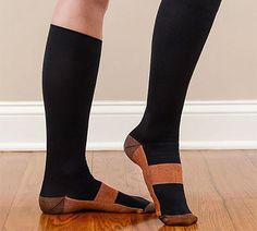 Win Today's Giveaway of the Day - Miracle Copper Anti-Fatigue Compression Socks - Drawing 4/13/15 @ 3PM EST