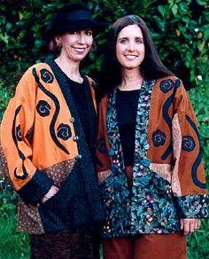 Rambling Rose samples - PaulaOBrienPaulaOBrien Jumper Patterns, Pants Pattern, Sewing Patterns, Rose Jacket, Blanket Coat, Cape Coat, Wool Felt, Baroque, Designers