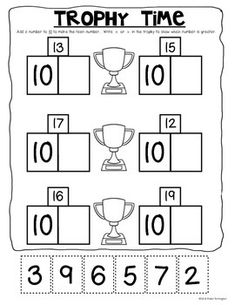 Crossing the Finish Line with Teen Numbers! Common Core