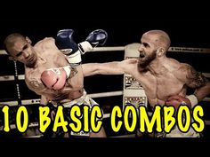 10 Basic Muay Thai Combos   Best Combinations For Beginners - YouTube