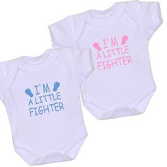 27c5c5704fc0 BabyPrem Premature Baby Clothes LITTLE FIGHTER Bodysuit Vest Girl Boys  3.5-7.5lb Preemie Babies