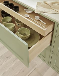 AMM blog: A Wide Open Kitchen in Pistachio Green