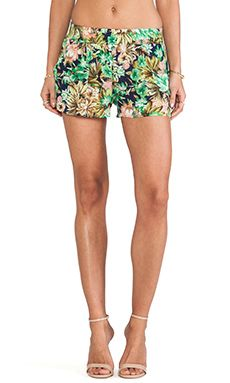 Lucca Couture Shorts in Navy Floral | REVOLVE