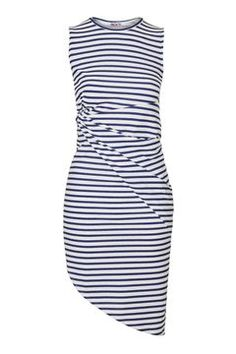 **Backless Stripey Knot Dress by Wal G