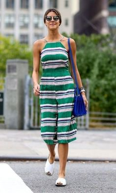 Soaking up the days of summer style while we still can... - Street Fashion