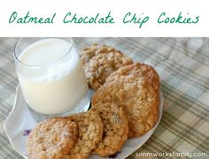 Oatmeal Chocolate Chip Cookies | Grain Mill Wagon