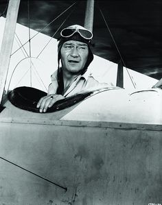 John Wayne in the Movie 'The Wings of Eagles' Old Hollywood Actors, Classic Hollywood, Best Movie Couples, John Wayne Movies, Maureen O'hara, True Grit, Oscar Winners, Looks Cool, Great Movies