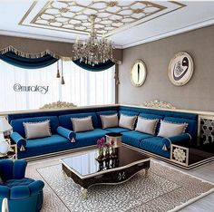 :Moroccan Salon Decor 2020 Our site is honored to see hundreds of visitors every day and from all categories, men and women And . Living Room Sofa Design, Living Room Interior, Home Living Room, Home Interior Design, Living Room Designs, Living Room Decor, Home Decor Furniture, Furniture Design, Arabic Decor