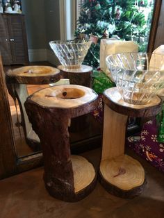 Redemption Woodwork Douglas Fir Pour-Over Stands