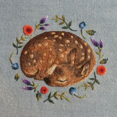 Illustrator Chloe Giordano embroiders miniaturized animals that are so thickly sewn, they take on a sculptural appearance. Her compositions consist of layers of fine, thin threads and, together, these meticulously-stitched marks visually blend color together like a pointillist painting. At the same time, the tiny fibers are visibly fuzzy, which is ideal for The artist's …